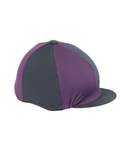 Shires Hat Silk Navy/Teal