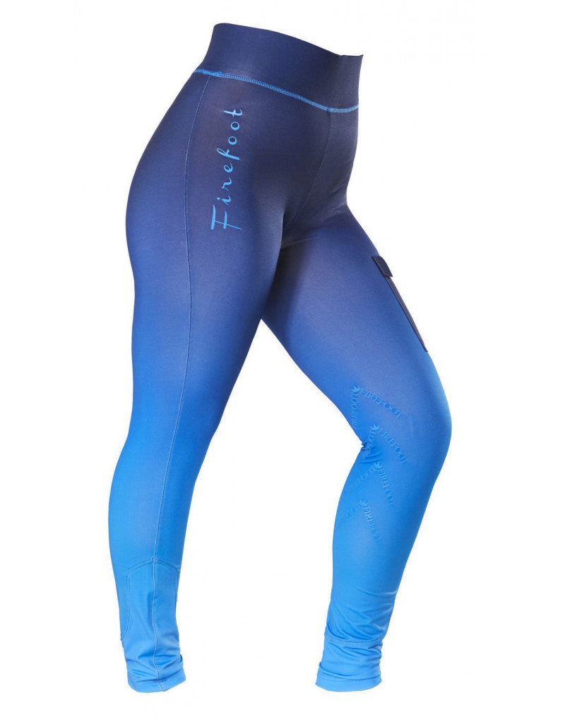 Firefoot Kids Ripon Ombre Breeches Navy/ Impact Blue