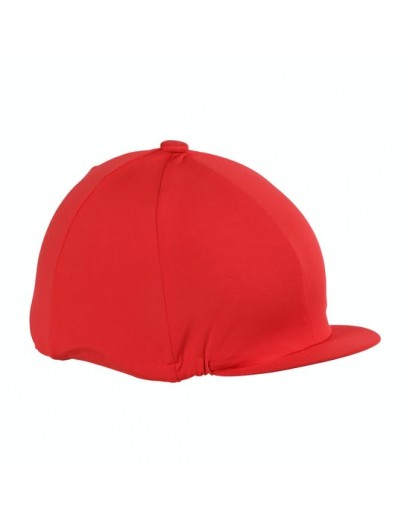 Shires Stretch Hat Silk- Red
