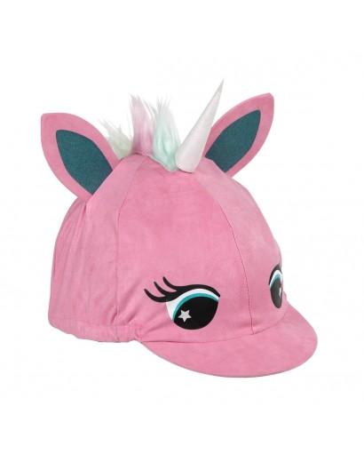 Shires Unicorn Hat Silk- Pink
