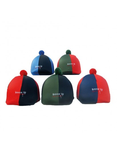 Breeze Up Hat Silk- Green/ Red