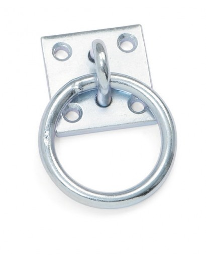 Shires Tie Ring with Plate-...