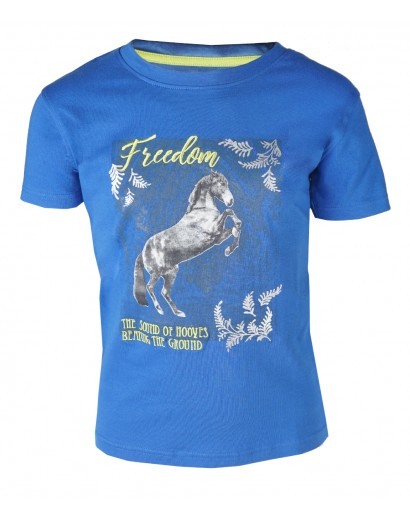 Red Horse T-shirt- Freedom-...