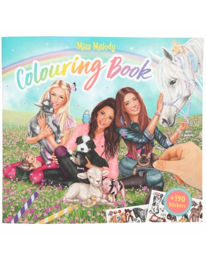 Miss Melody Colouring Book...