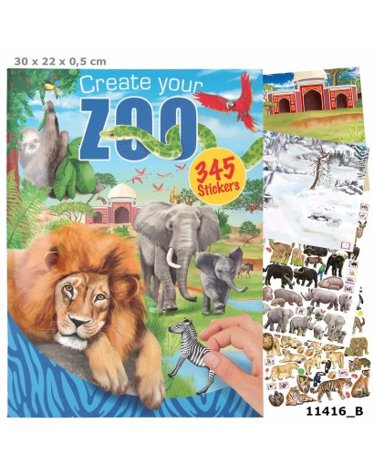 Create your ZOO Colouring Book