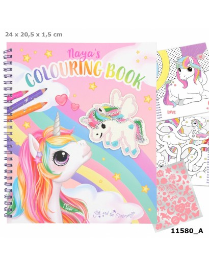 Ylvi colouring book with...