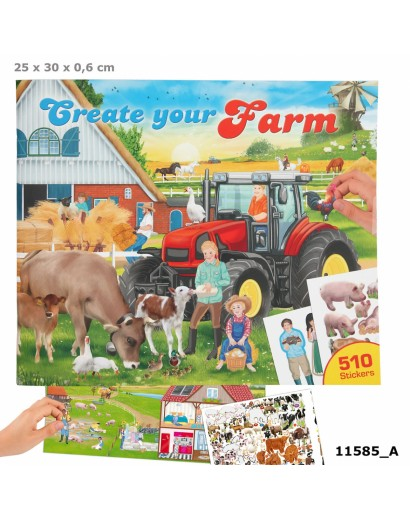 Create Your Farm Colouring...