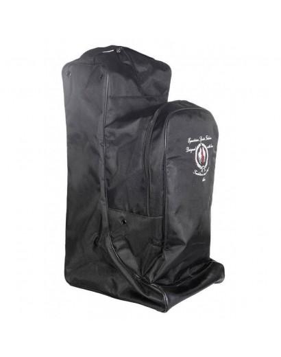 HKM Boot and Helmet Bag- Black
